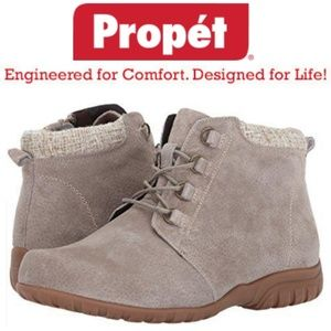 🆕️Propet Delaney Sand Suede all weather bootie